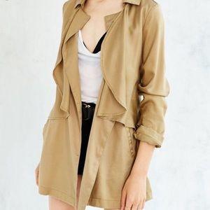 Anthropologie tan coat M